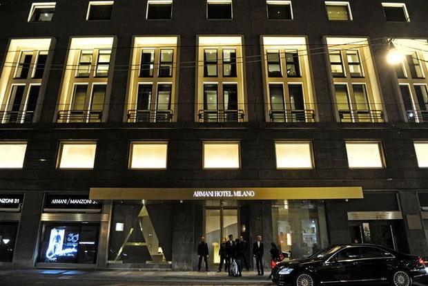 Giorgio Armani Has Opened His Flagship Armani Hotel In Milan