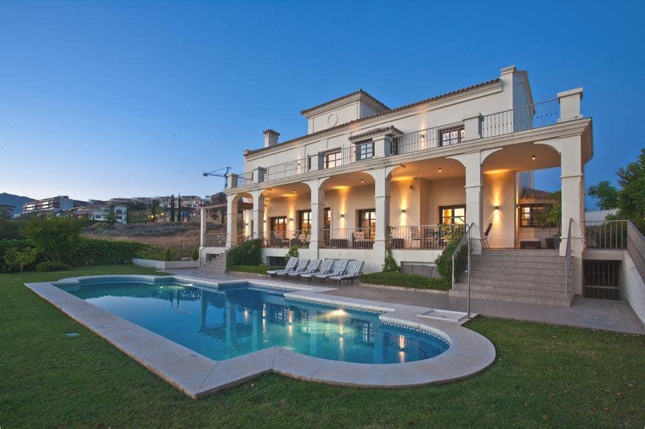 The beautiful Casa Villa Flamingo in Marbella Spain