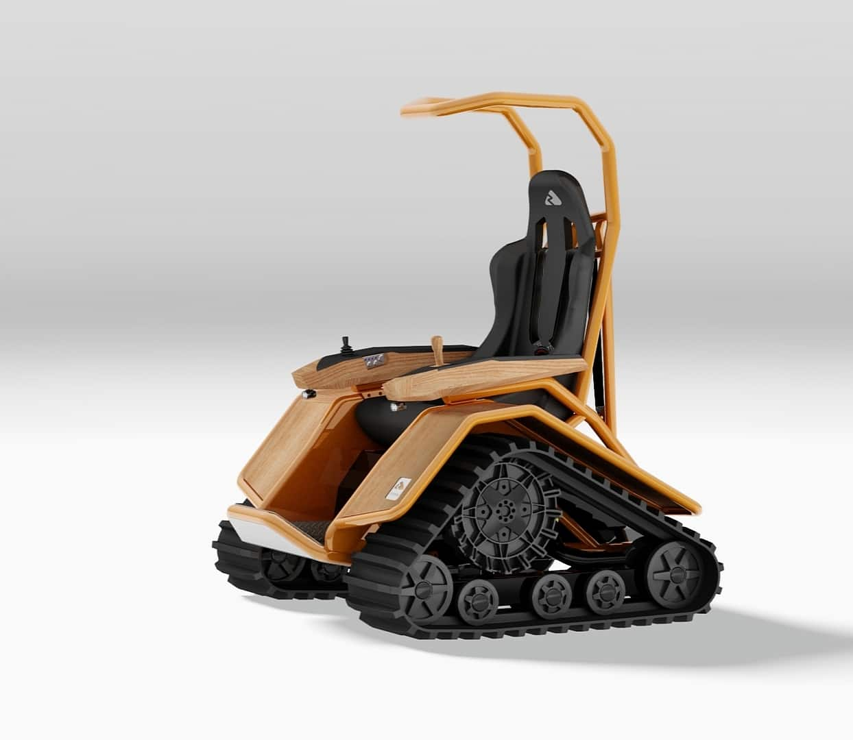 tank chair wheelchair covers for plastic stacking chairs the ziesel is a tiny off road vehicle that packs serious