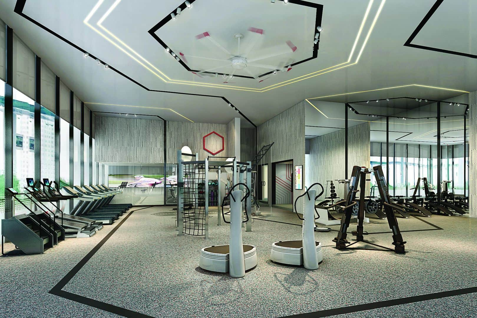 The 95M inviteonly Gravity Gym is out of this world
