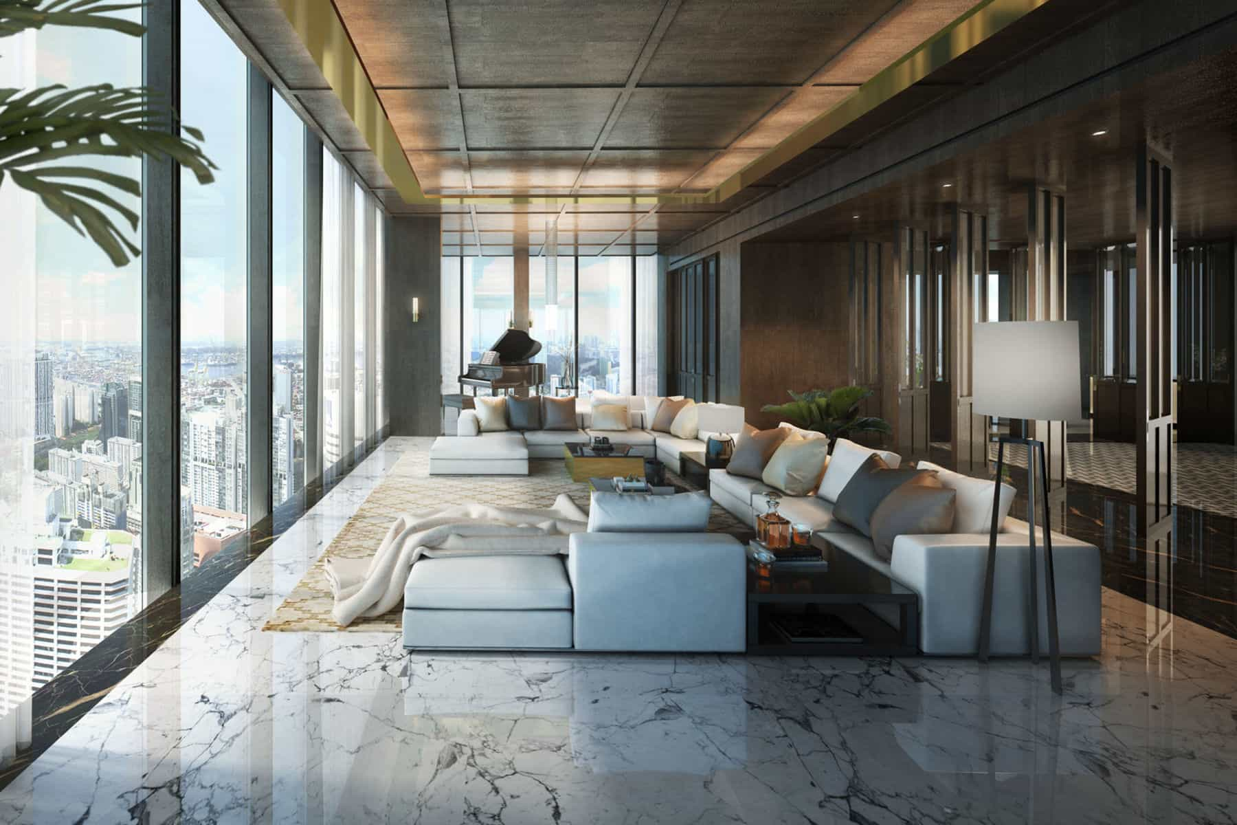 Singapore's Wallich Residence Super Penthouse Costs $784m