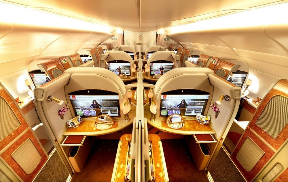 The Top 10 Most Luxurious First Class Airline Cabins