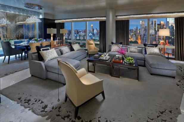 Suite 5000 at the Mandarin Oriental