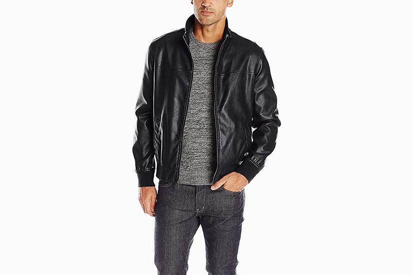 best leather jackets men tommy hilfiger luxe digital