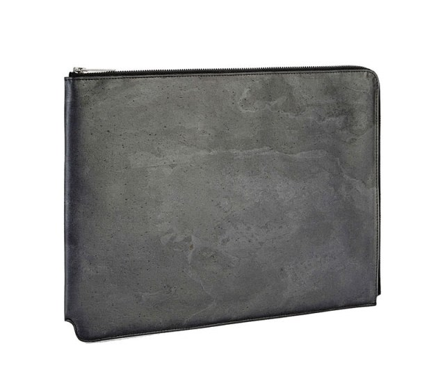 Black Impact Stone Briefcase Gift For Men Luxe Digital