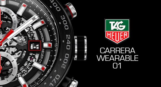Carrera Wearable 01: Tag Heuer dévoile sa montre connectée