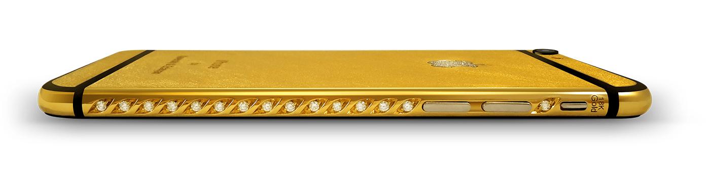iPhone or et diamants Kavensky #02