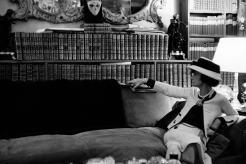 La bibliothèque de Coco Chanel