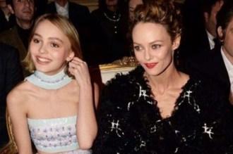 Lily-Rose Depp et sa mère Vanessa Paradis