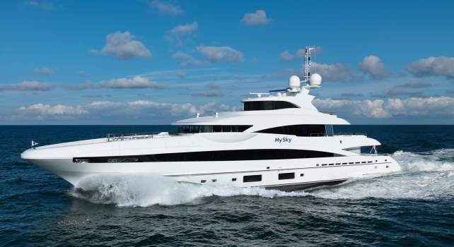 Heesen MySky : Le méga yacht Néerlandais