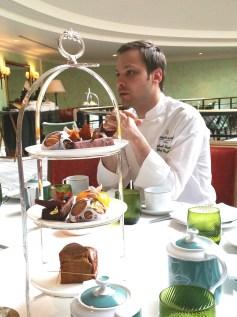 Michael Bartocetti Chef Pâtissier au Shangri la Hôtel
