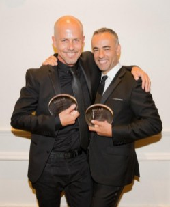 Francisco Costa et Italo Zucchelli avec leurs titres