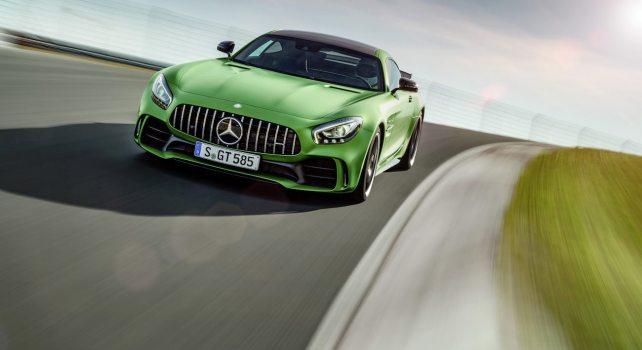 Mercedes AMG GT R : Les premières images de la future allemande