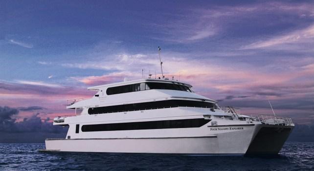 Four Seasons Explorer : Une croisière de rêve dans un catamaran de luxe aux Maldives
