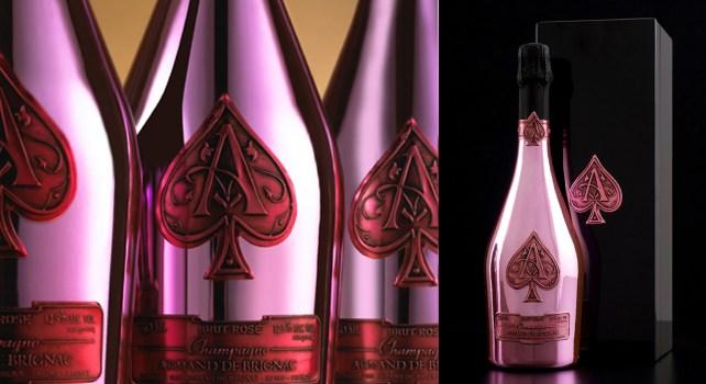 Armand de Brignac Brut Rosé : Quand un champagne se mêle aux couleurs de l'amour
