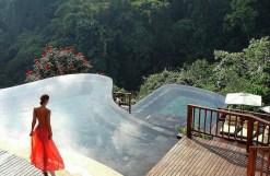 Hanging Gardens of Bali - Vue piscine