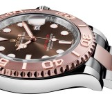 rolex yacht master or rose