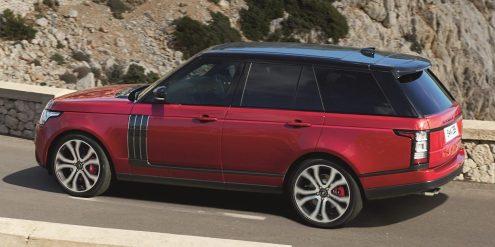 Nouveau Range Rover 2017