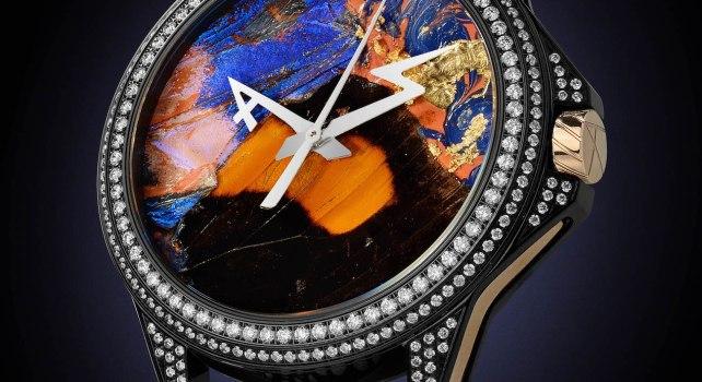 ArtyA Butterfly Tourbillon : Une montre avec de véritables ailes de papillons