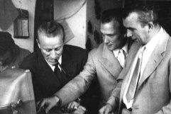 Maurizio, Aldo et Guccio Gucci