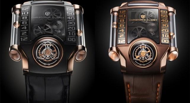 Christophe Claret X-Trem-1 : Une montre innovante et technologique