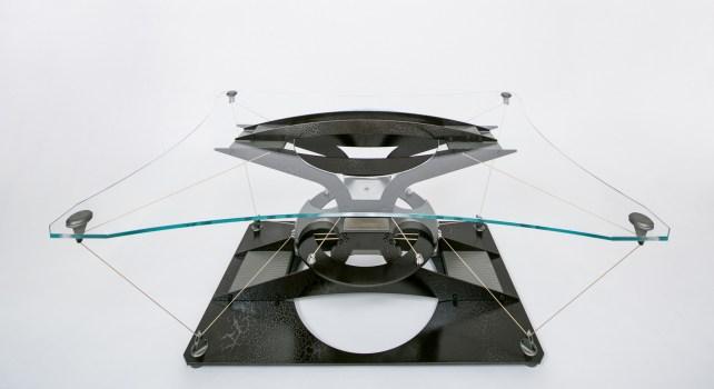 Teles Taxidi : La table volante qui associe art et technologie