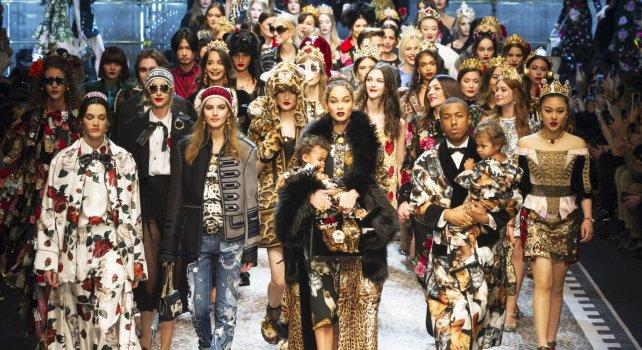 Dolce & Gabbana Automne-Hiver 2017/2018 : Un défilé à la personnalité éclatante