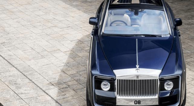 Rolls Royce Sweptail : Un modèle unique à 11,4 millions d'euros