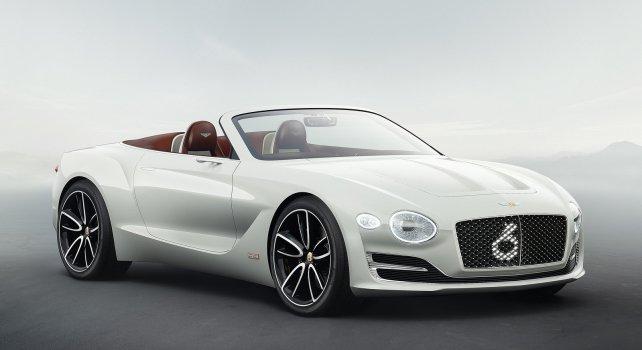 Bentley EXP 12 Speed 6e : Une voiture électrique aussi performante que futuriste