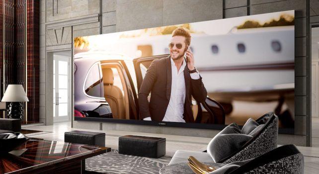 C SEED 262 : L'écran tv 4K le plus large de tous les temps