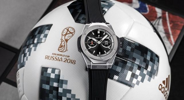 Hublot Big Bang Referee 2018 FIFA World Cup Russia : Une montre en édition spéciale à l'honneur de l'évènement