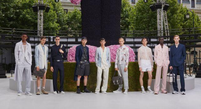 Dior Homme Printemps-Été 2019 : L'hommage de Kim Jones à Christian Dior