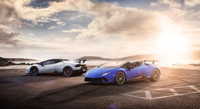 Lamborghini Huracan Performante Spyder : Le sensationnel à l'honneur