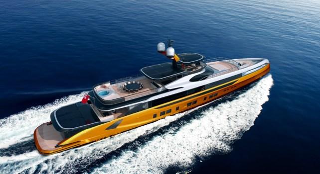 Dynamiq GTT165 : Le premier superyacht paré d'hydrofoils