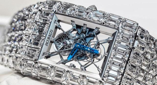 Jacob & Co : Le boxer Floyd Mayweather acquiert une montre à 18 millions de dollars