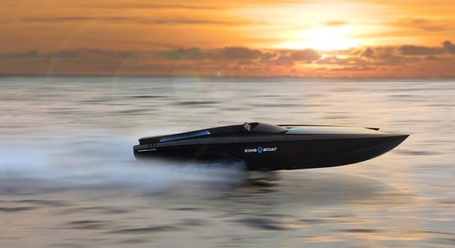 King-Boat : Naviguez à toute vitesse à bord du Bagheera 50 GTS