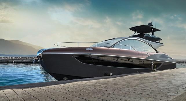 Lexus LY 650 : Premiers pas du constructeur dans le monde nautique