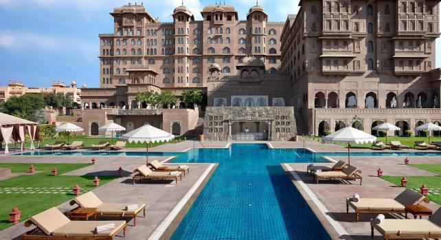 Fairmont Jaipur Hotel : Le savoir-faire architectural indien à l'honneur