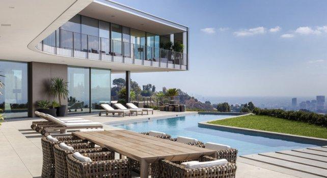 Zoltan Pali : Une hélice en guise d'inspiration pour une villa en Californie