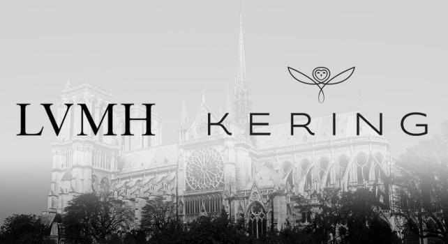 LVMH & Kering s'engagent dans la restauration de Notre-Dame-de-Paris