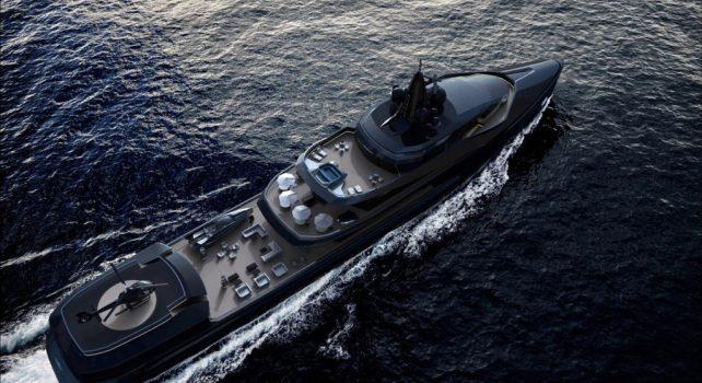 Oceanco : Esquel, un nouveau superyacht de 105 mètres