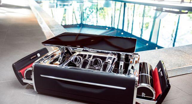 Rolls-Royce : Un coffre à champagne de luxe à plus de 40.000€