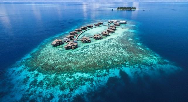 Raffles Maldives Meradhoo : Un complexe 5 étoiles coupé du monde
