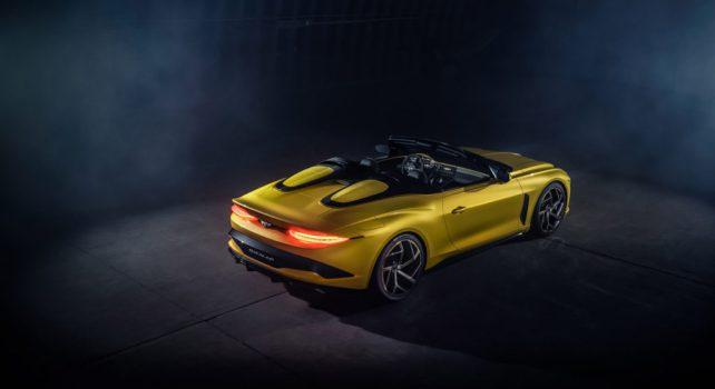 Bentley Mulliner Bacalar : Le modèle speedster cabriolet sous la signature Bentley