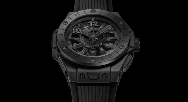 Hublot Big Bang GMT All Black Yohji Yamamoto : Le Japon à l'honneur