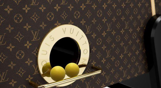 Louis Vuitton : Un Baby-Foot haut de gamme pour des matchs d'envergure