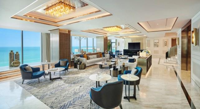 Mandarin Oriental Jumeira : À la découverte de la Suite Penthouse Royale
