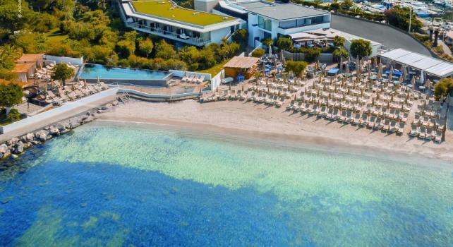 Cap d'Antibes Beach Hôtel : Vivez les prémices de l'été indien au Cap d'Antibes