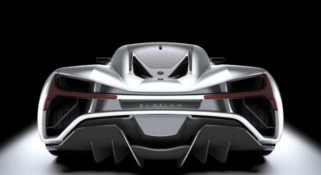 Elation Freedom : La voiture du futur aux 1400 chevaux électriques