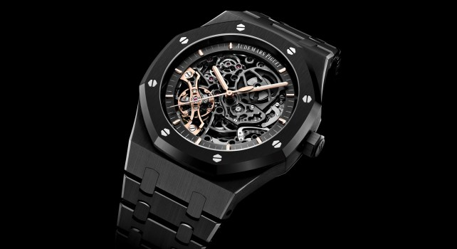 Audemars Piguet Royal Oak Double Balancier Squelette « Black Ceramic »